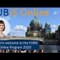 Welcome by the FUBiS Program Director to FUBiS Online 2020