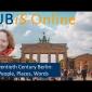 "FUBiS Digital Lecture Series: Session ""Twentieth Century Berlin: People, Places, Words"""